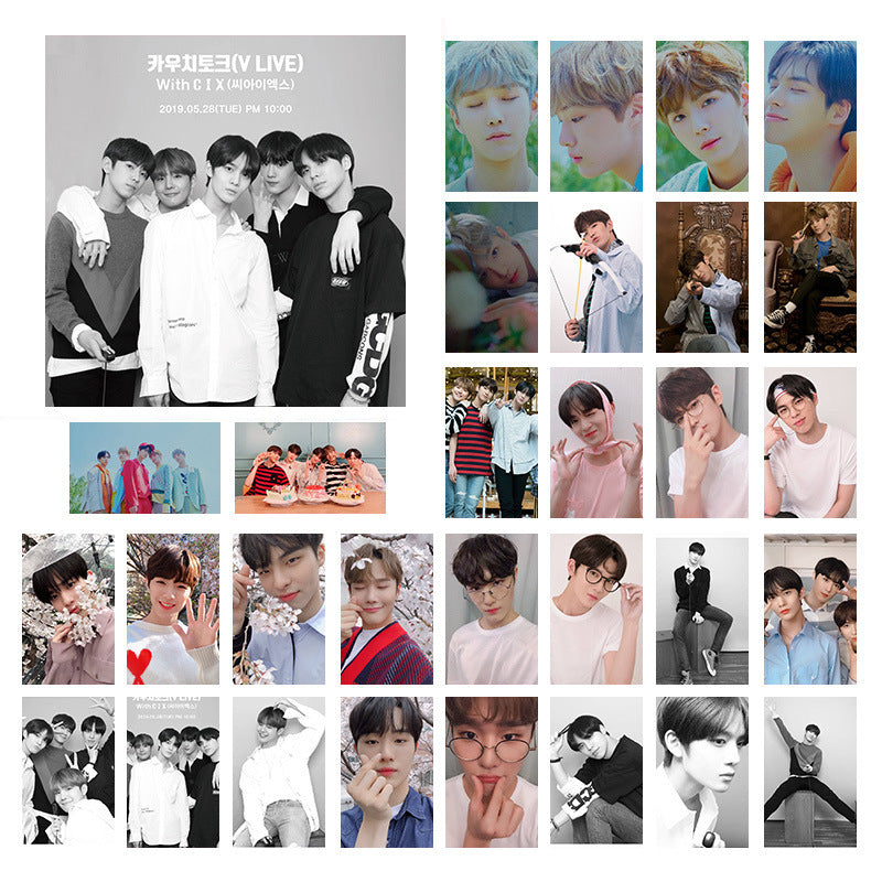 DAY6 CIX X1  Lomo Card Poster