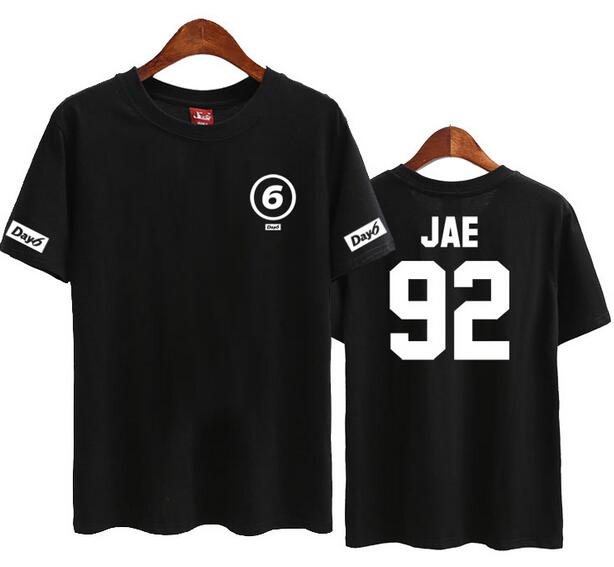 Day6 Member Name Short Sleeve T shirt