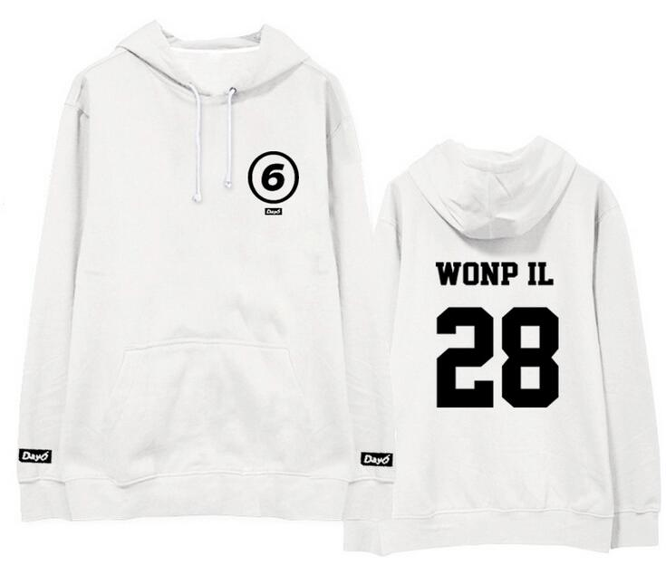 Day6 Hoodies with Member Name and Logo