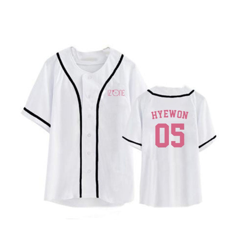 IZONE HipHop Casual Loose Tshirt