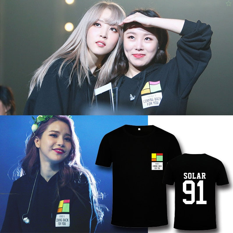Mamamoo Coming Back For You Cotton T-shirt