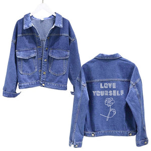 Love Yourself Denim Jackets