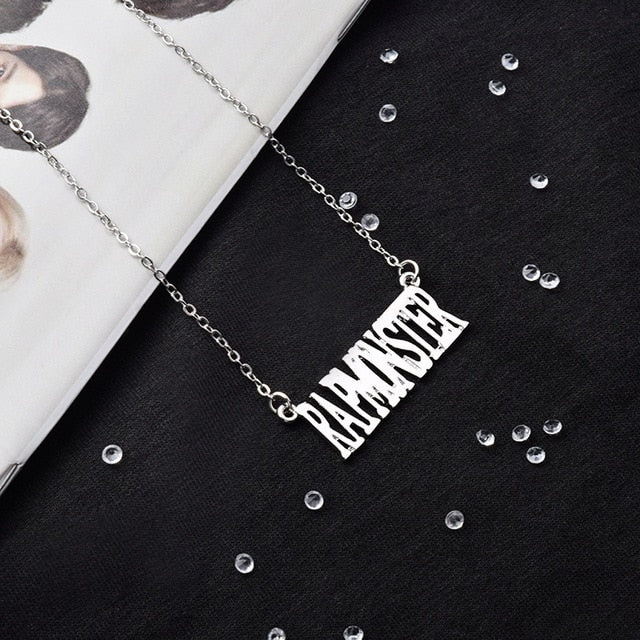 Bangtan Boys Name  Stainless Steel Necklace