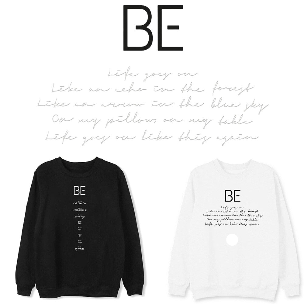 Kpop Bangtan Boys New Album BE Sweatshirts
