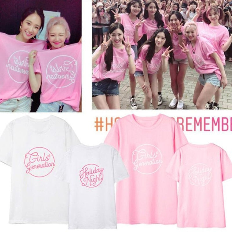 Girls Generation Six Album Short Sleeve T-shirt
