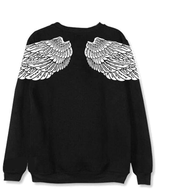 BTS V - Dark Angel Sweatshirt - Hyphoria