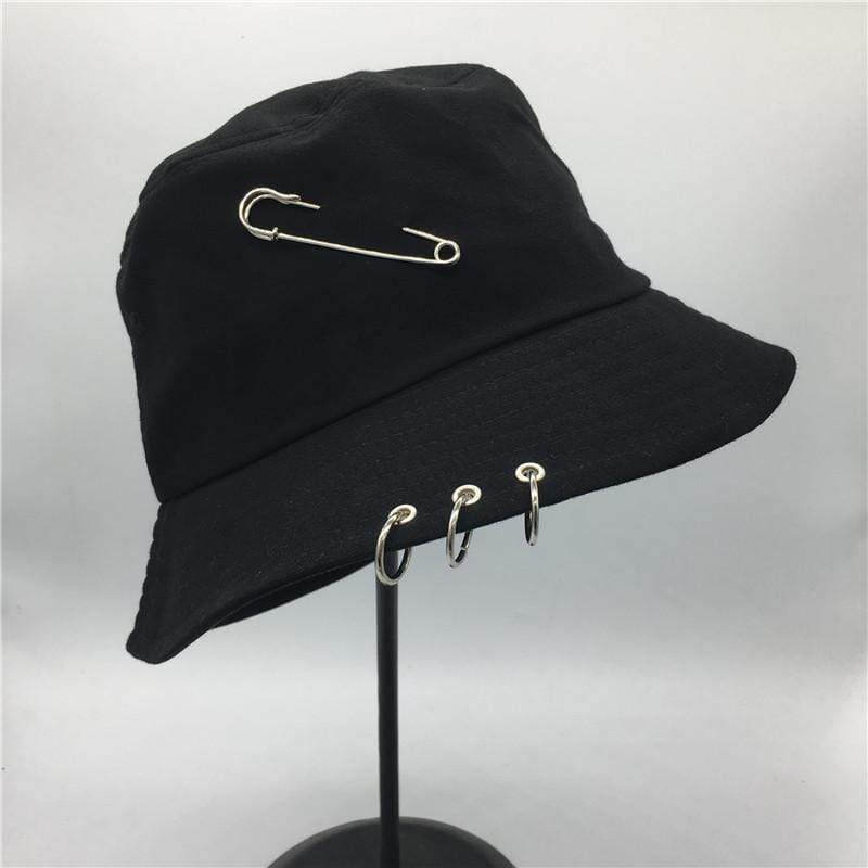 KPOP Iron Ring Bucket Hat