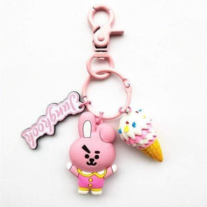 Bangtan21 Ice Cream Keychain