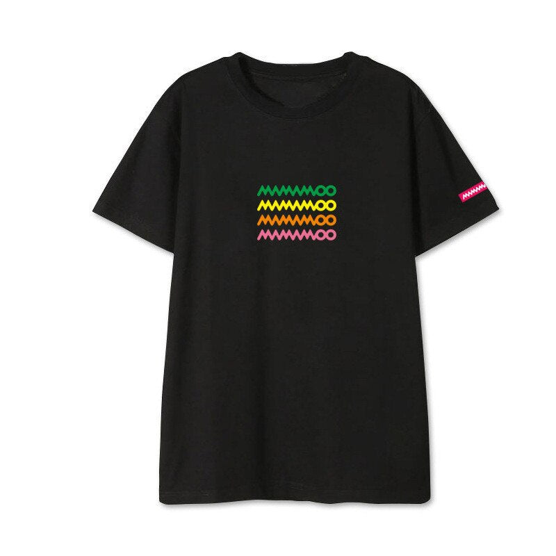 Mamamoo  Hip Hop Casual Loose T Shirt