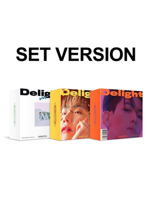 BAEK HYUN - Mini Album Vol.2 [Delight] Official