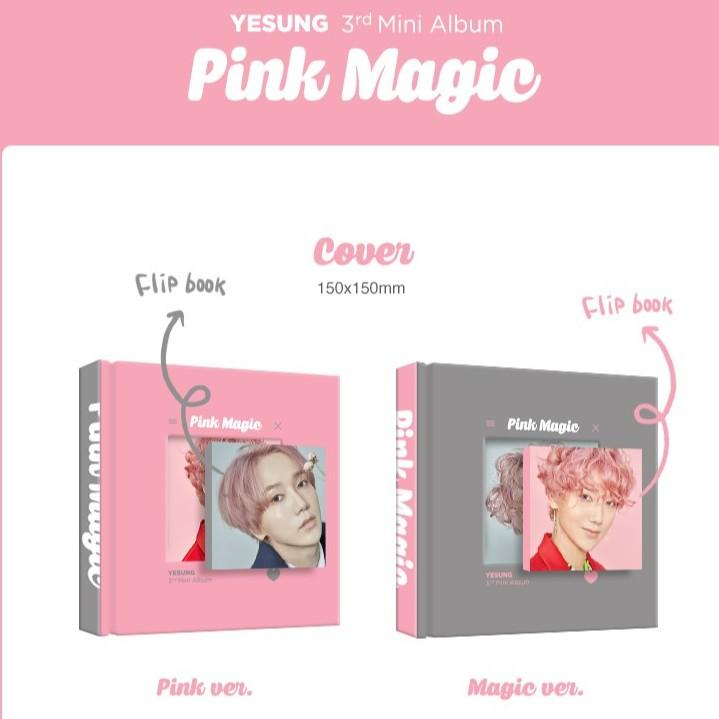YESUNG - Mini Album Vol.3 Pink Magic - OFFICIAL