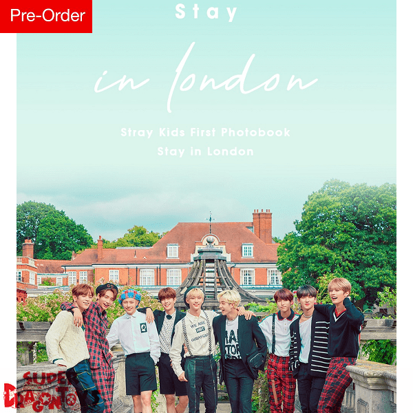 (PRE_ORDER) Stray Kids - Stray kids First Photobook [Stay in London]  - Official