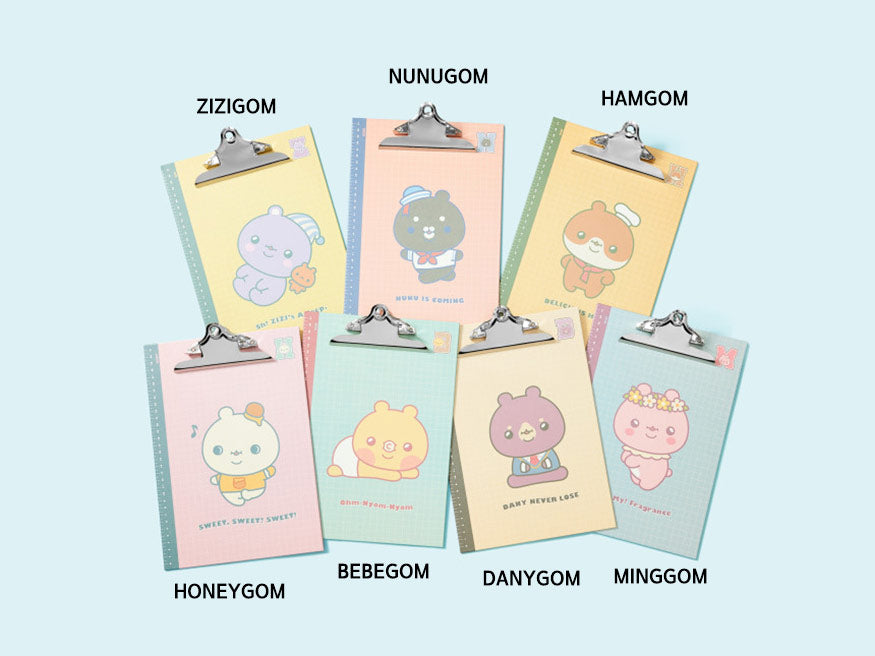 Monsta X With Twotuckgom Official Clip Board