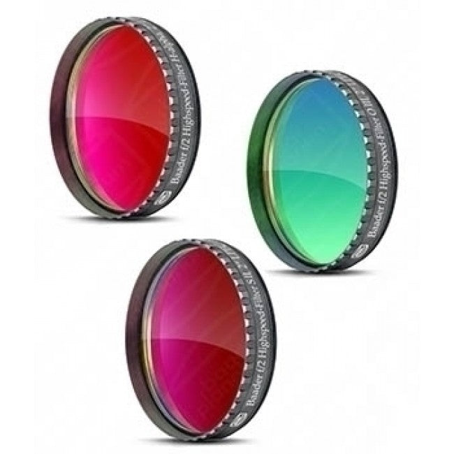 "Baader f/2 Highspeed-Filter Set - 2"" (Ha, OIII, SII)"