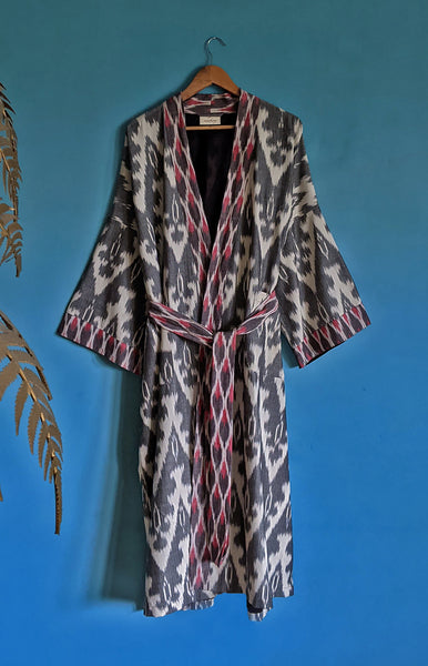 Chief Organic Cotton Kimono Dressing Gown