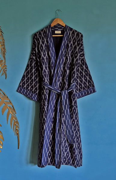 Kambo Ja Organic Cotton Dressing Gown