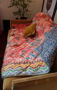 Aztec Reversible Quilted Throw