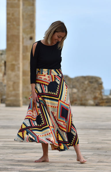 Chief Bamboo Wrap Skirt
