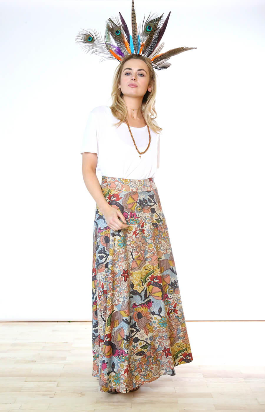 Woodstock Wrap Skirt