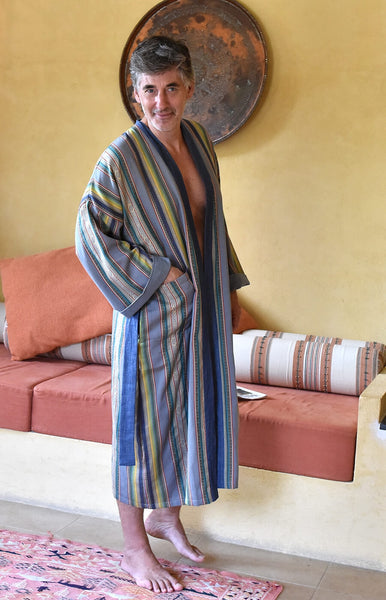 King of the Castle Long Dressing Gown
