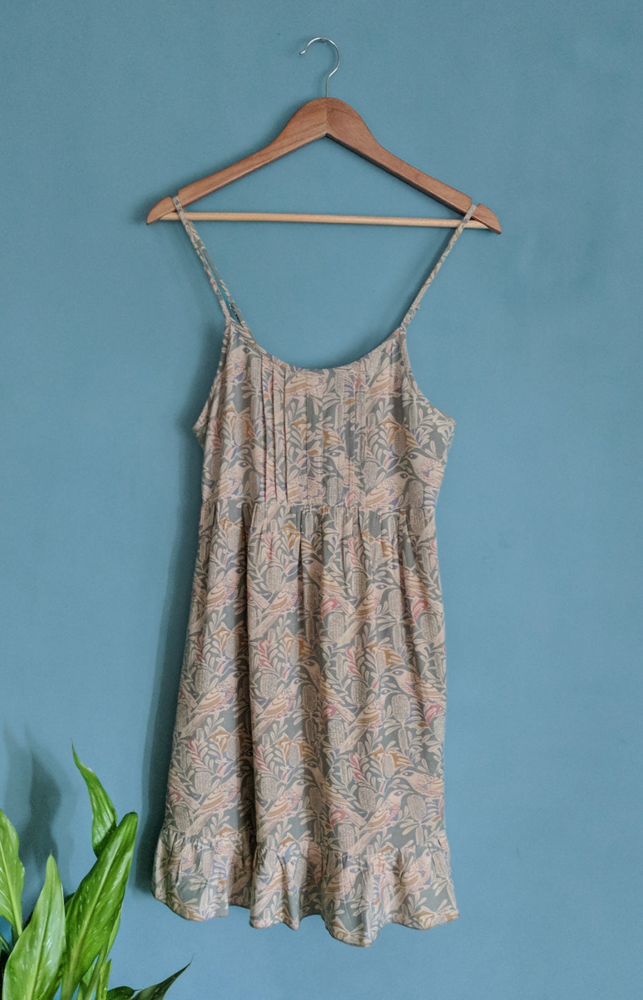 Wattle Bird Pintuck Slip Dress