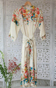 Orchard Blossom Organic Cotton Dressing Gown