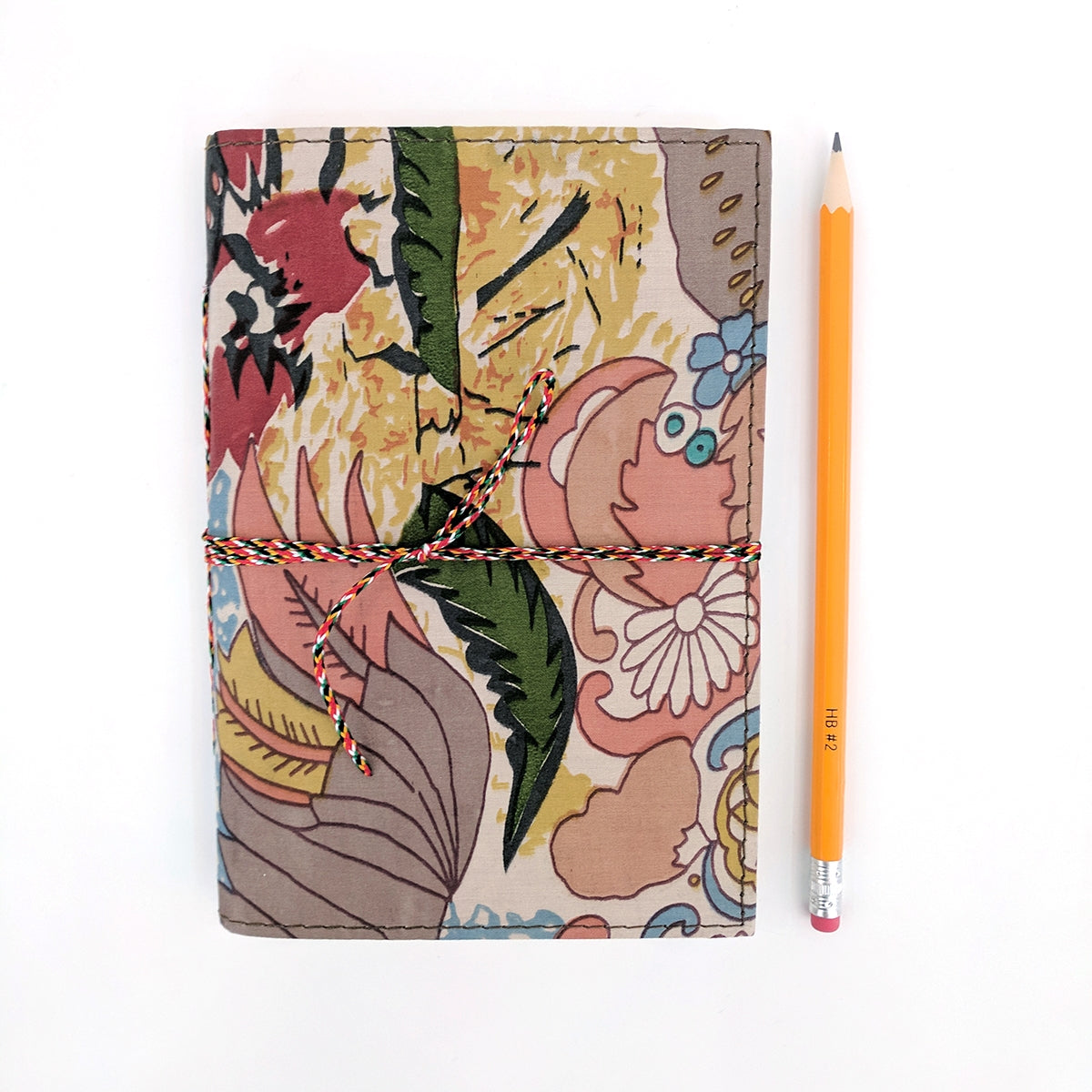 Woodstock Fabric Covered A5 Notebook