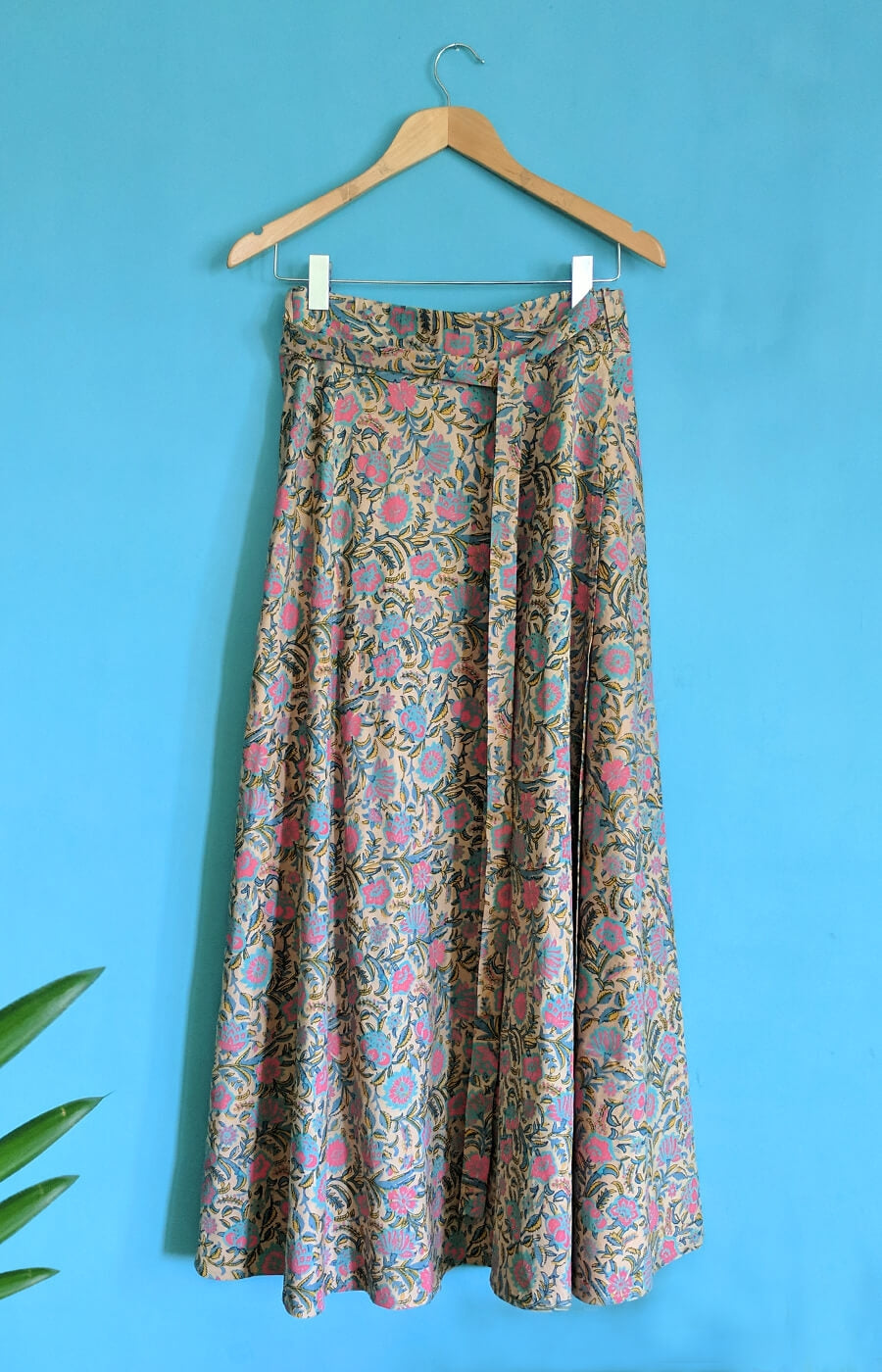 Flirty Flowers Wrap Skirt