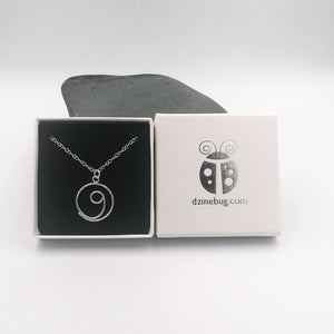 Silver Gratitude necklace