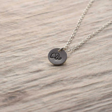 Load image into Gallery viewer, Sterling silver Elephant necklace