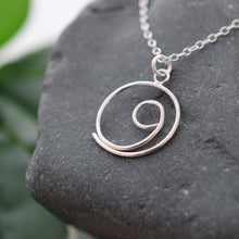 Load image into Gallery viewer, Silver Gratitude necklace