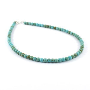Magnesite gemstone choker necklace
