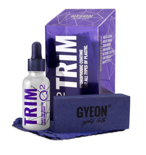 GYEON Q2 Trim 30ml - Ceramic Quartz Coating Kit For Plastic and Unpainted Trim