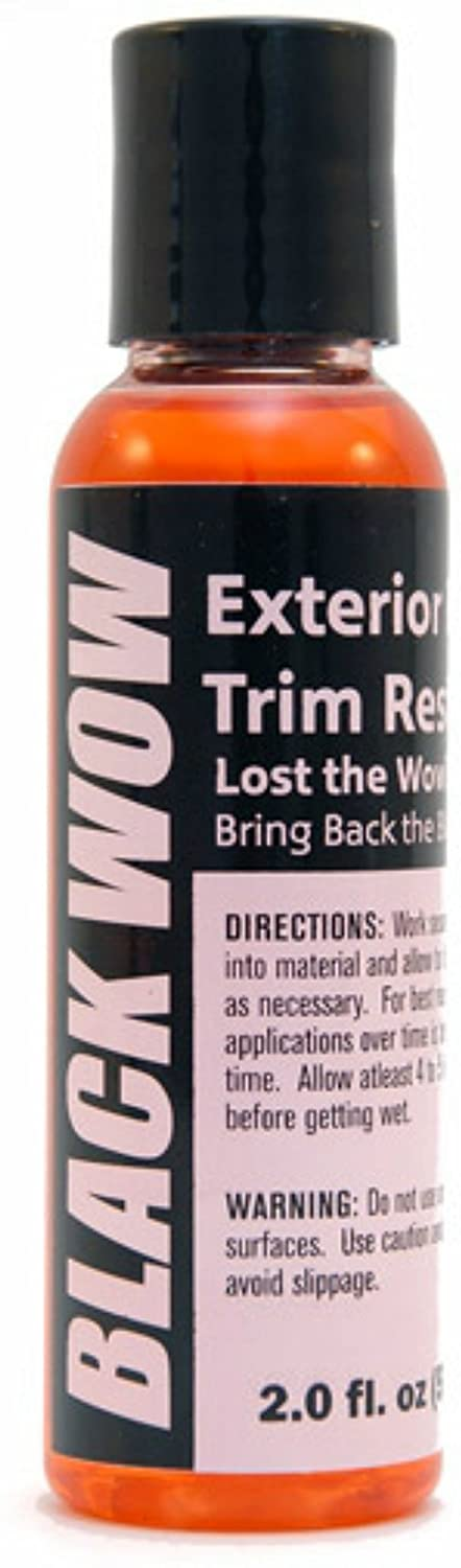 Black Wow Exterior Trim Restorer … (2oz)