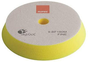 RUPES 180 mm Foam Fine Yellow use with The Keramik Gloss Fine Polish