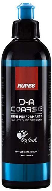 RUPES New D-A Coarse Compound - HIGH-Performance POLISHING Compound - 250ML (8.5oz)
