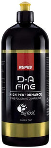 New RUPES New D-A Fine Polish - HIGH Performance FINE POLISHING Compound - 1 Liter