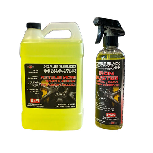 P&S Iron Buster Wheel & Paint Decon Remover, Pint, Gallon or Pint + Gallon