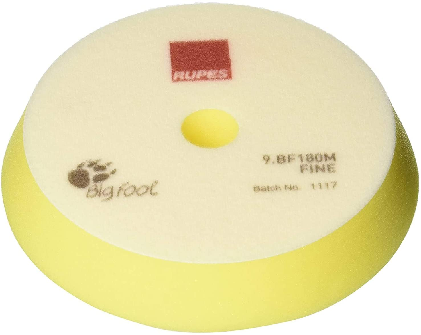Load image into Gallery viewer, RUPES 180 mm Foam Fine Yellow use with The Keramik Gloss Fine Polish