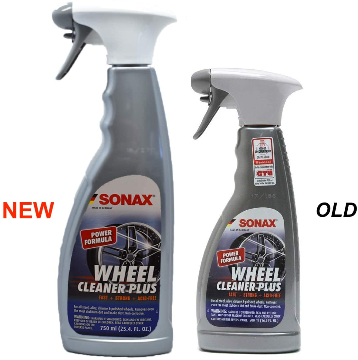 Load image into Gallery viewer, Sonax New (230400) Wheel Cleaner Plus - 2 Pack