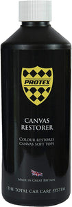 Protex World Convertible Soft Top Canvas Restorer (Black)
