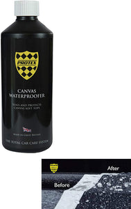 Protex World Convertible Soft Top Canvas Waterproofer Seals and Protects