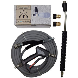 MTM Hydro Professional Kit #1 with SS Swivel, SGS28 Spray Gun, Non-Marking Hose, PF22 & SS Bent Lance