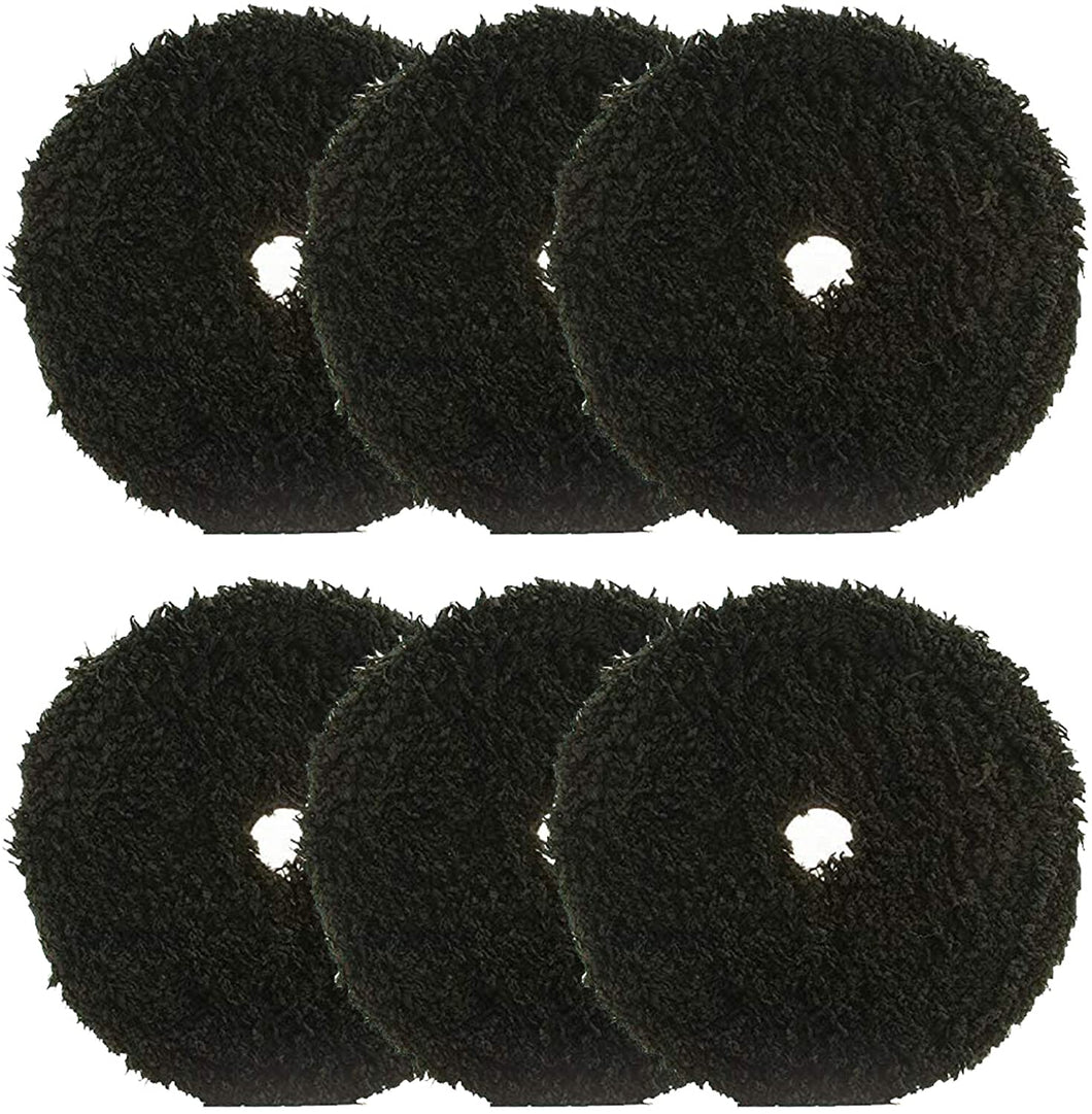 Buff and Shine Microfiber Finisher Pad 6 inch (6 Pads)