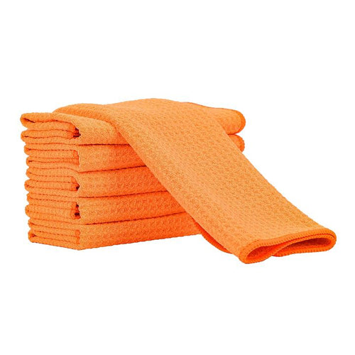 Waffle Weave Microfiber Drying Towel - 370GSM 16