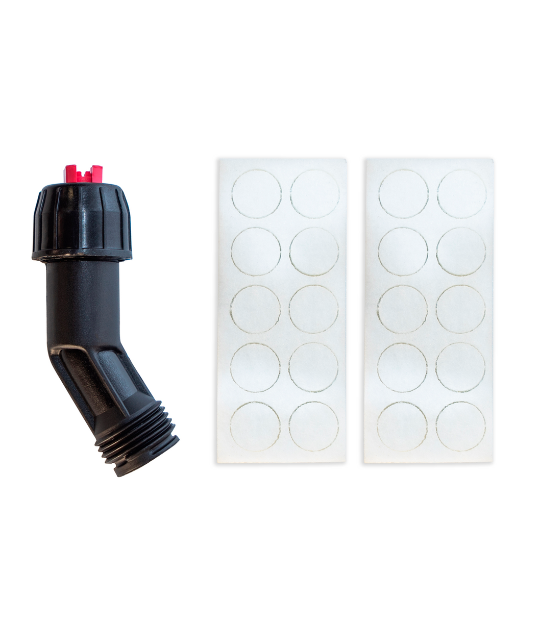 Foam and Angled Nozzle Kit for Foam Pro 9-12