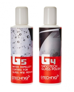 Gtechniq G5 and G4 MaxRepellency Glass Kit