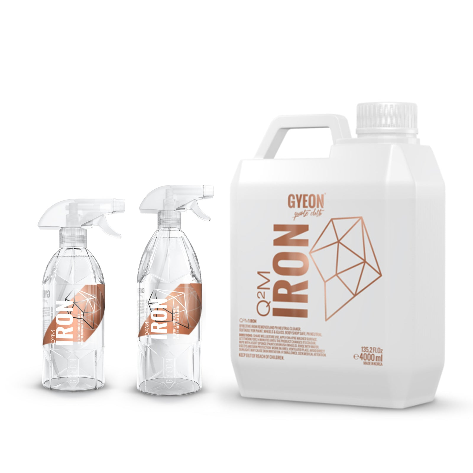 Load image into Gallery viewer, Gyeon Quartz Iron Brake Rail Dust Remover Safe on Wheels and Paint 500ml, 1000ml, 4000ml