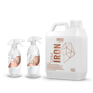 Gyeon Quartz Iron Brake Rail Dust Remover Safe on Wheels and Paint 500ml, 1000ml, 4000ml