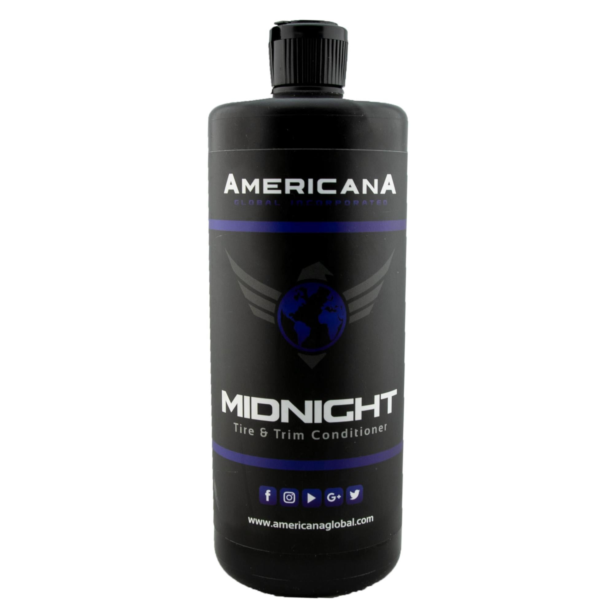 Load image into Gallery viewer, Americana Global Midnight Tire & Trim Conditioner